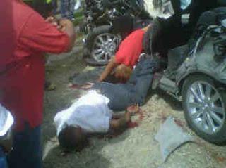 Dos muertos y cinco heridos en accidente carretera Higüey; iban de promesa a la Basílica