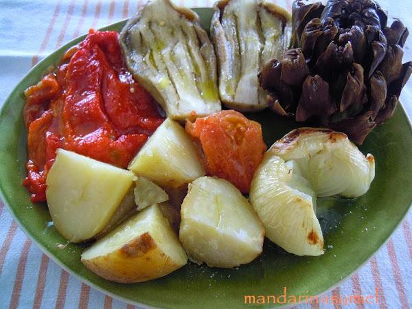 Verduras al horno cocinar en casa es - Cocinar verduras al horno ...