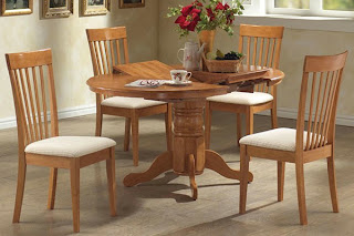 Small Kitchen Tables: Dining Table in Galley | Lexa Vega