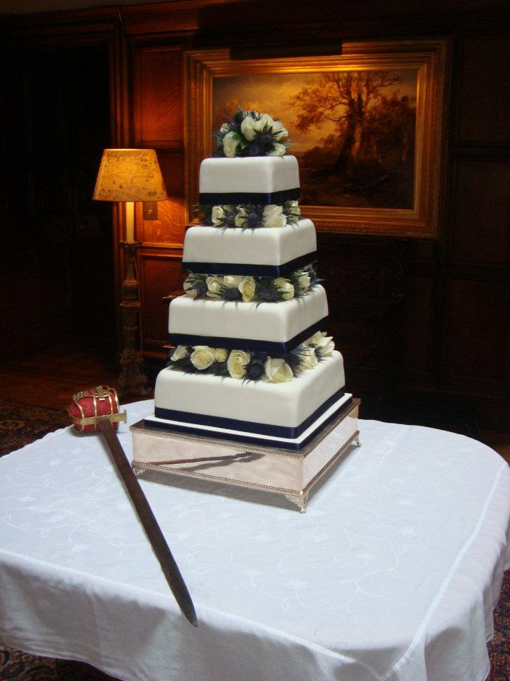Special Day Cakes Special Cakes For Romantic Scottish Wedding