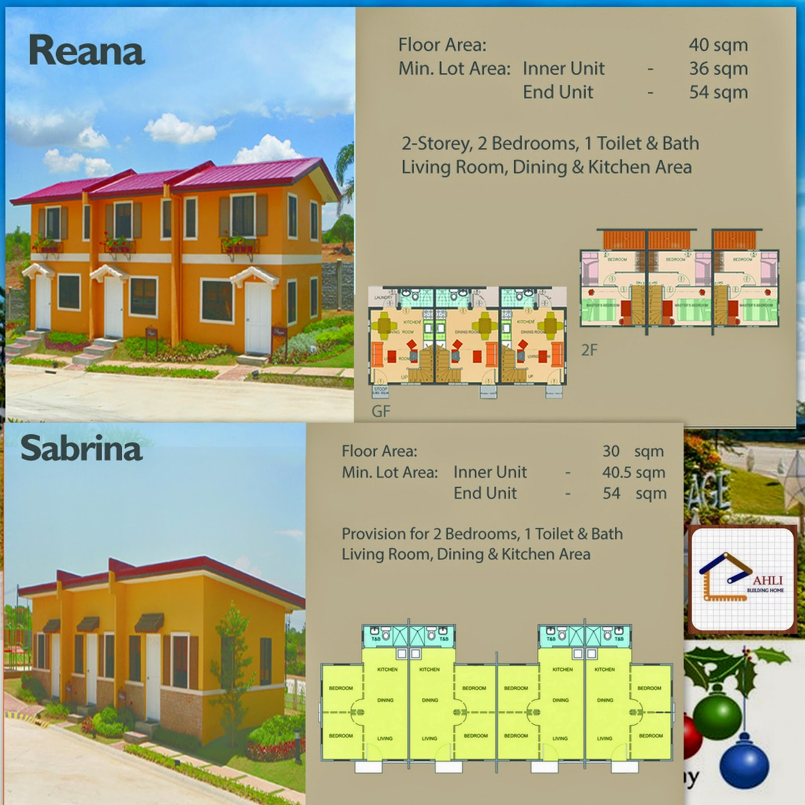 Sabrina model camella homes