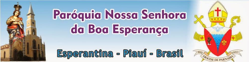 Terra da Boa Esperança - Paróquia de Esperantina
