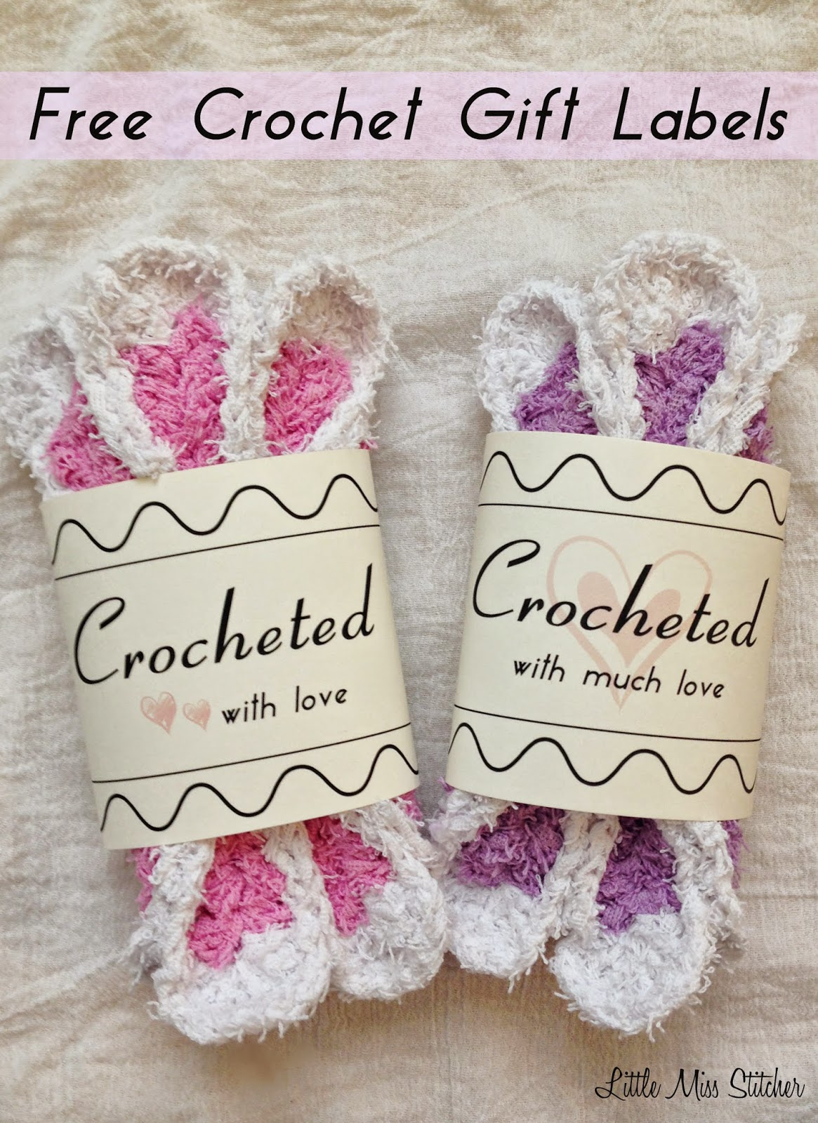 Sly image throughout printable crochet labels
