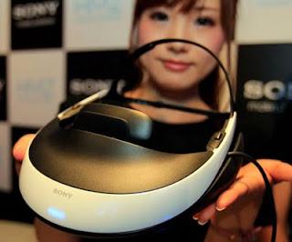 Sony wearable 3D