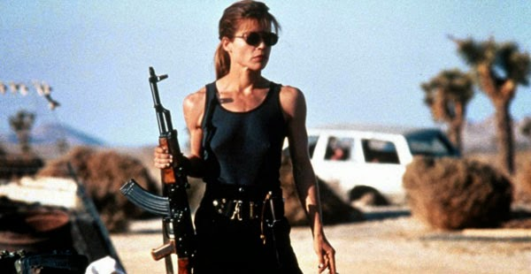 Sarah Connor in Terminator 2: Judgment Day