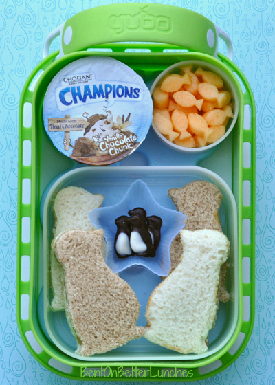 March of the Penguins yubo bento school lunch