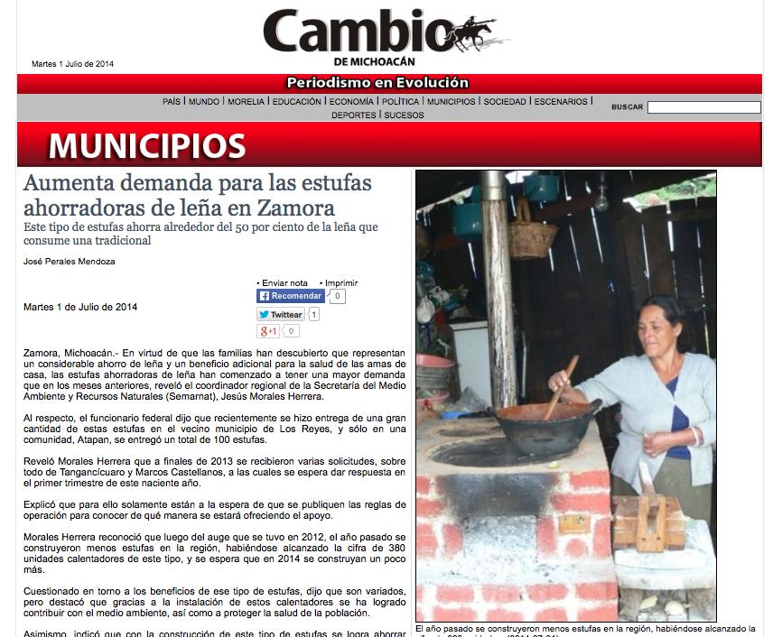 Proyecto patsari uso sustentable de la le a - Foro estufas lena ...
