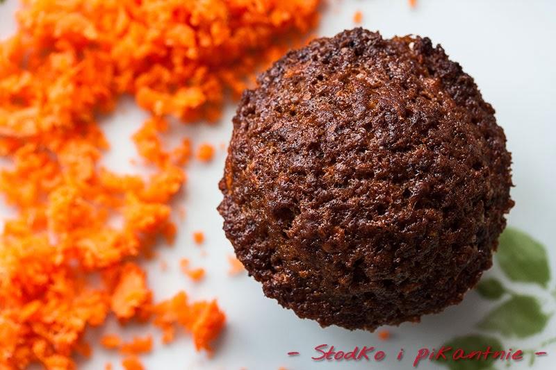 Muffin z marchewką
