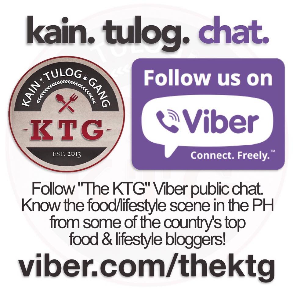 KTG ON VIBER CHAT!