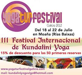 Logo del YogaTur Festival 2012