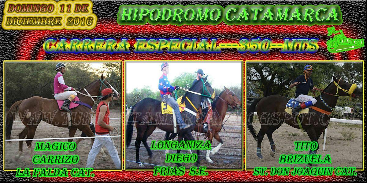 CARRERA ESPECIAL---350---MTS