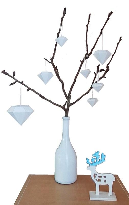 DIY : Branche de Noël