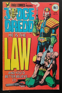 Judge Dredd 1, 1983, Eagle Comics, Brian Bolland,