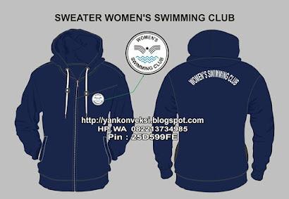 SWEATER WOMEN'S SWIMMING CLUB