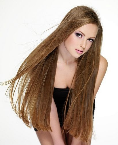 Gaya Rambut Panjang Wanita