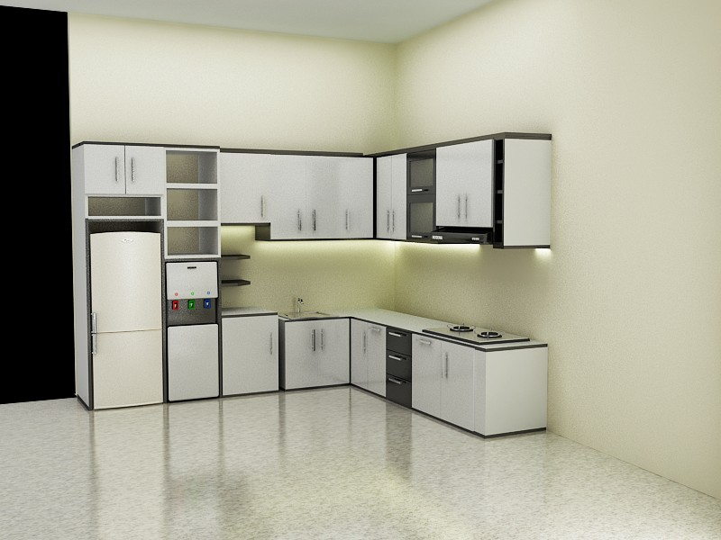 gallery for kitchen set minimalis