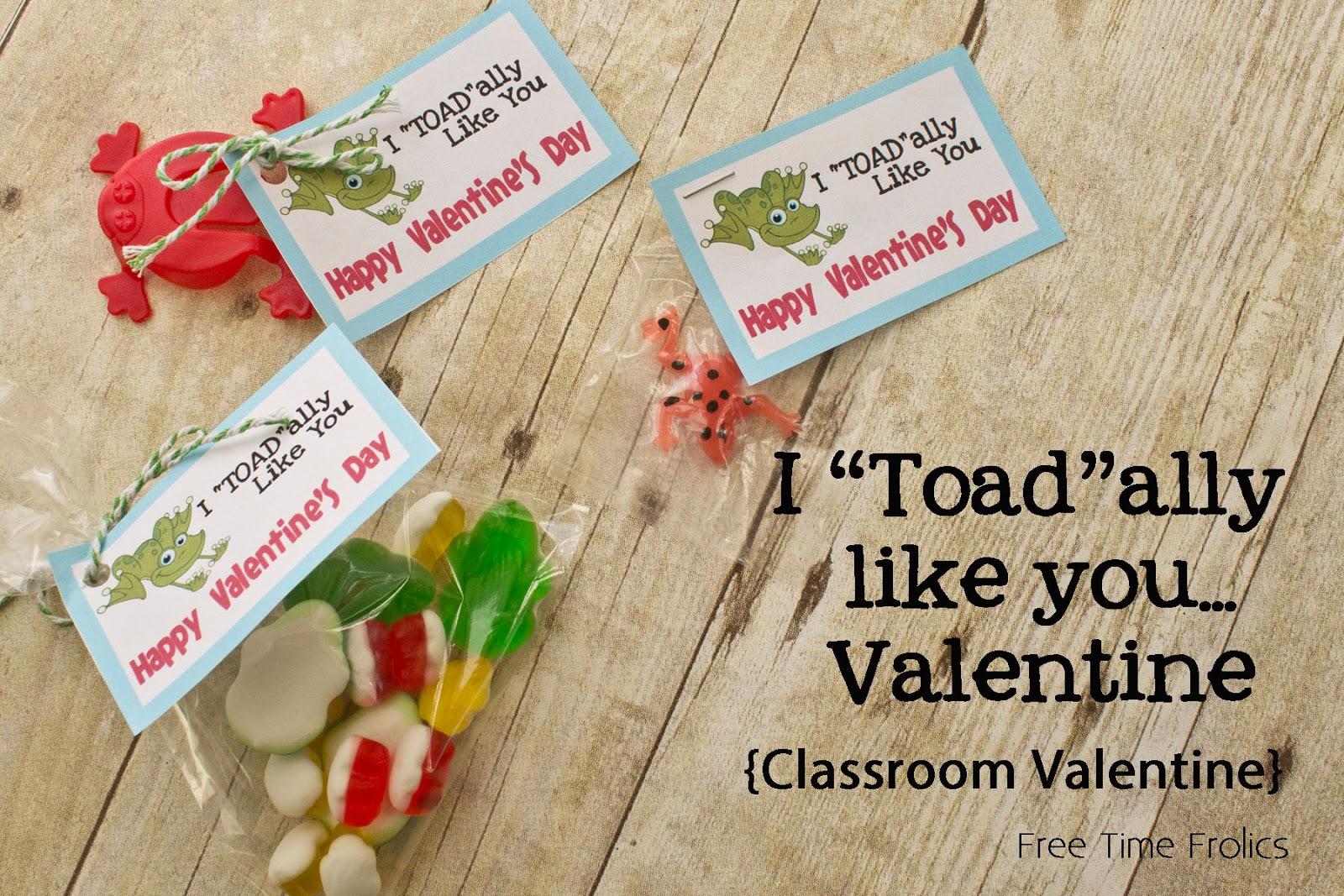 """Toad""ally like you Valentine www.freetimefrolics.com #valentine"
