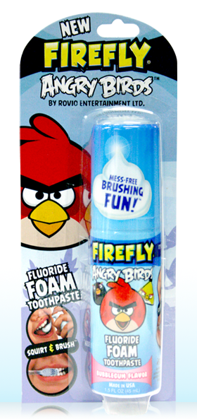 firely foam toothpaste