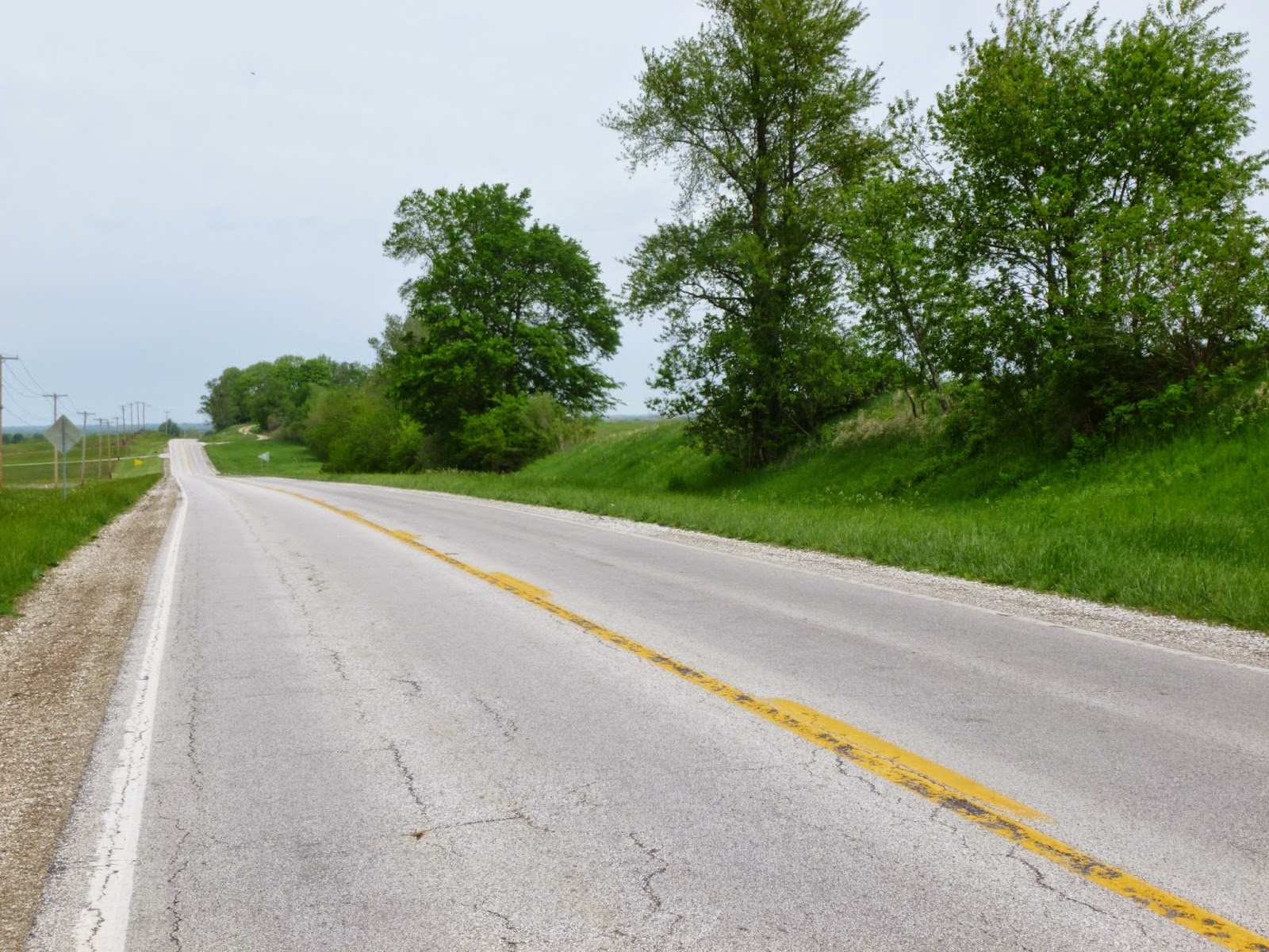 Illinois pike county griggsville - Illinois 107 From Griggsville To Perry Some 6 Miles Distant