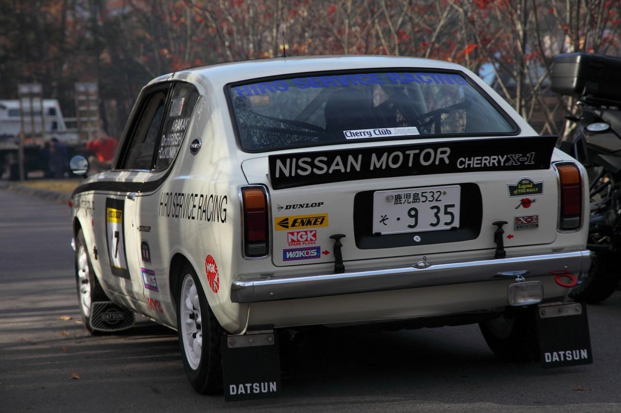 Nissan, Datsun, Cherry, X-1, sportowy, japońskie auto, dawny samochód, klasyczna motoryzacja, wyścigi, sport, rajdy, rally, nostalgic, classic, Japonia, JDM