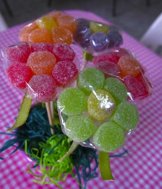 Manualidades con gomitas dulces