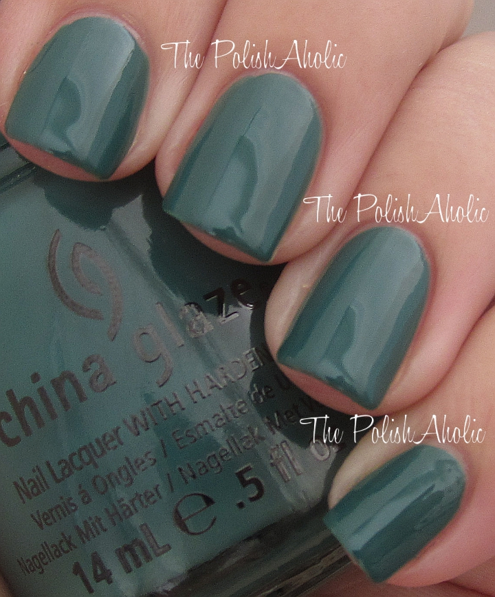 The PolishAholic: China Glaze Fall 2012 On Safari Collection Swatches