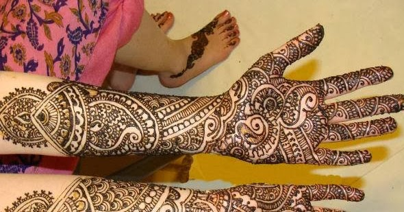 Gorgeous Bridal Mehndi Designs : Best mehndi designs: gorgeous bridal designs