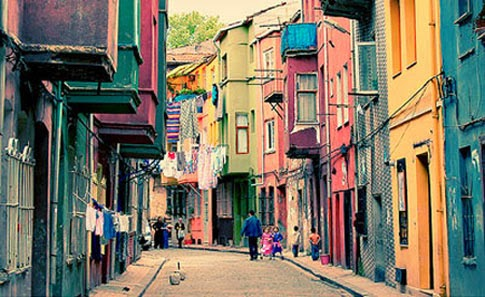 Colorful Cities in Istanbul, Balat