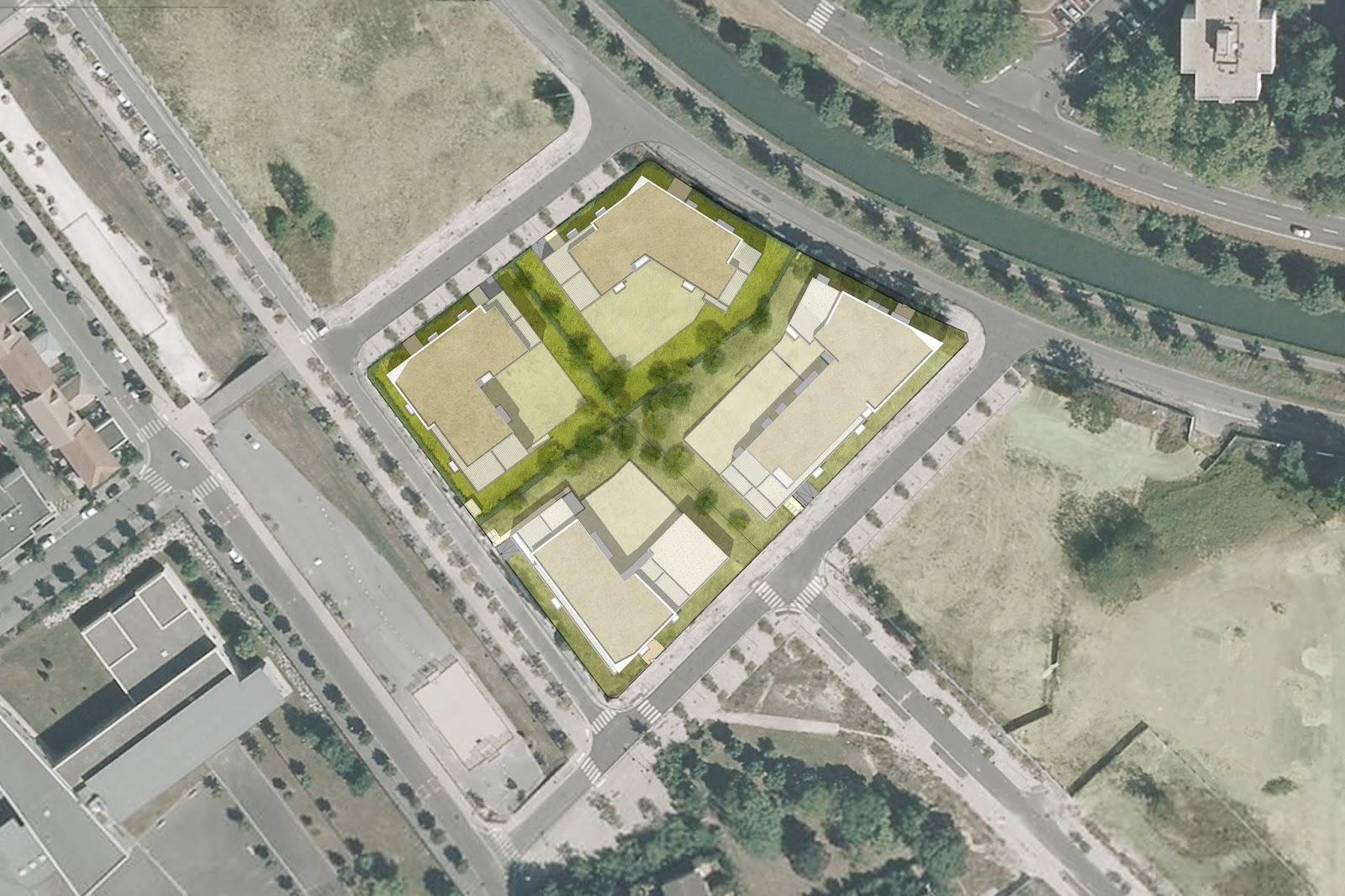 Archicop groupe projet de 77 logements meaux tranche 2 for Projet de plan