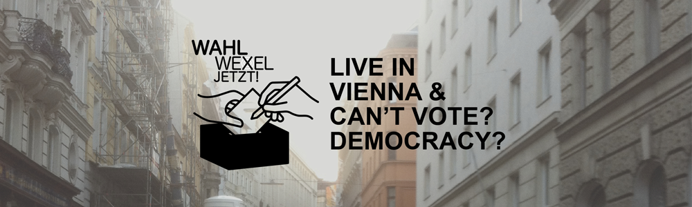 WahlweXel jetzt! Taking a Vote