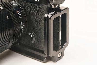 Hejnar Photo Modular L Bracket for Fuji X-E1 overview