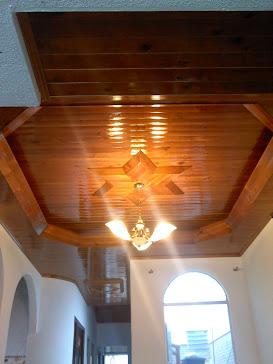 Machimbres del llano pvc cielo rasos cielorrasos de madera - Luz indirecta ...