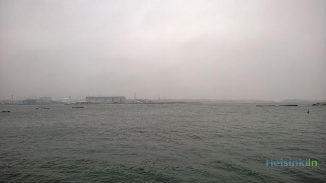 fog over Helsinki
