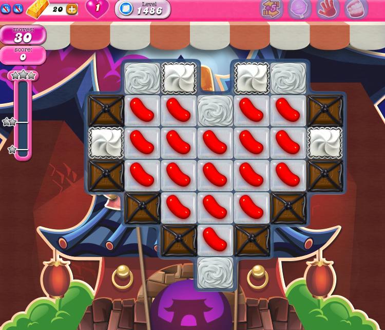 Candy Crush Saga 1486