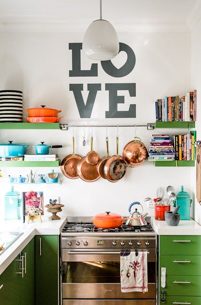 Some Of My Favorite Non Traditional Kitchen Decor Ideas   All From  Pinterest.