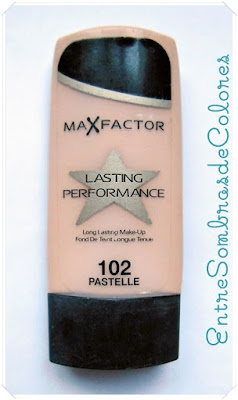 BASE LASTING PERFORMANCE - MAX FACTOR