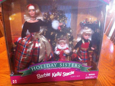 Barbie Kelly Stacie Holiday Sisters Special Edition Gift