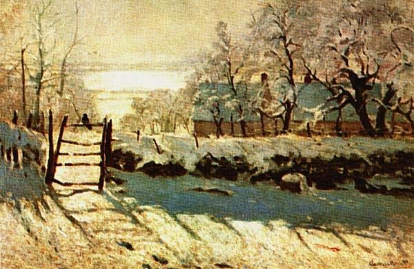 Клод Моне. Сорока. 1868 — 1869.