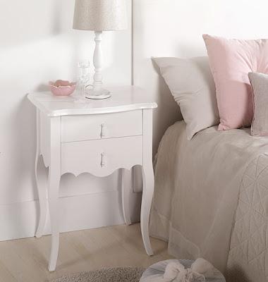 Muebles de dormitorio por la decoradora experta marzo 2013 - Mesita noche pequena ...
