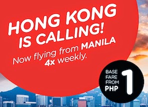 Hong Kong Manila AirAsia