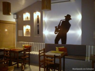 Alfafa Café e Bistrô: Ambiente interno