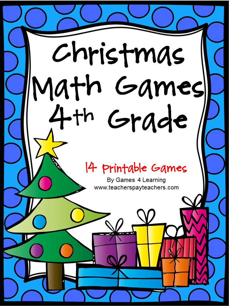 ... lots of fun math that focus on skills for the particular grade