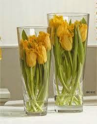 Modern Frilled Tulips Design