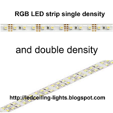 RGB LED strip single density and double density