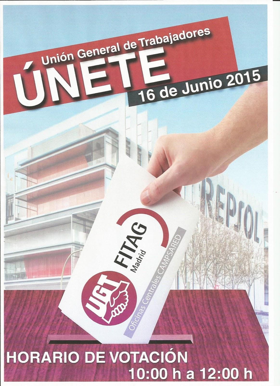 Secci n sindical estatal ugt fica campsared resultado elecciones delegados de comit oficinas - Oficinas centrales de sanitas en madrid ...