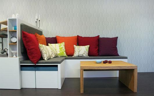 Maximizar los muebles en apartamentos con peque os for Muebles para apartamentos pequenos
