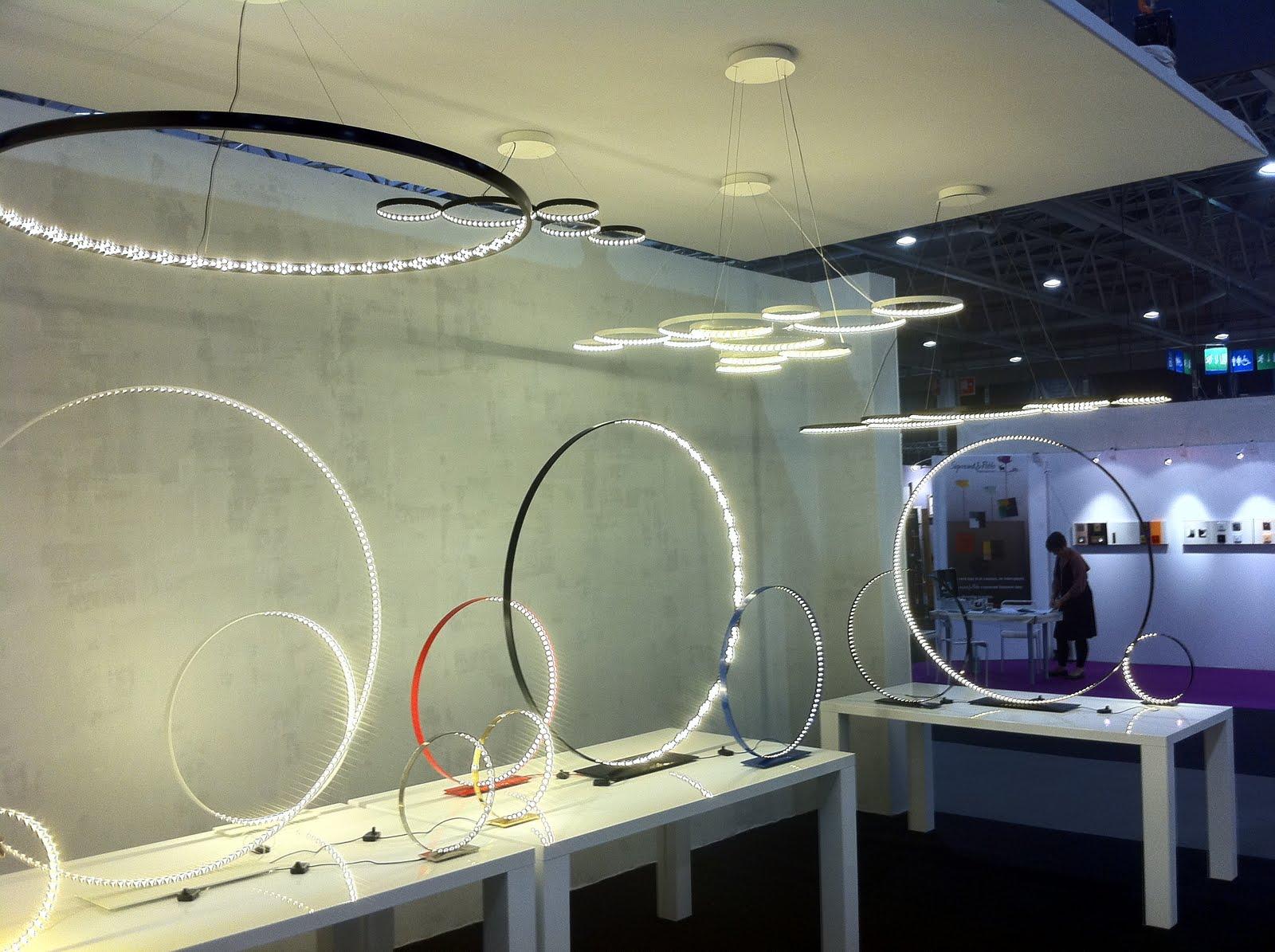le blog maison objet 2011 r vons dans l 39 espace le deun luminaires. Black Bedroom Furniture Sets. Home Design Ideas