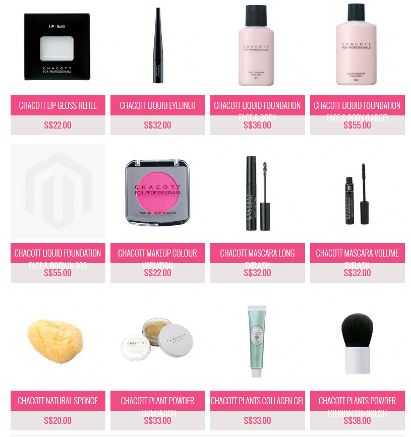everbluec chacott professional makeup singapores price