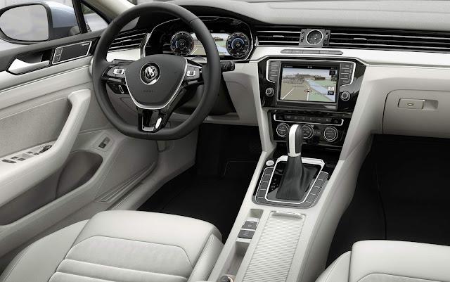 Novo VW Passat 2016 - Brasil - interior