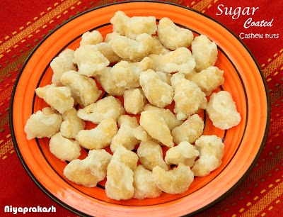 Sugar Coated Cashew nuts or Paindare Pankanthu Galleli Bee